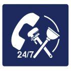 24872168 - plumber service symbol