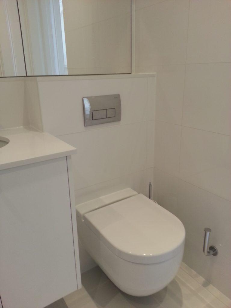 Bathroom - Cornwall Gardens - Atlantic PlumbingAtlantic Plumbing